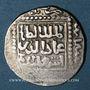 Monnaies Imitation croisée d'un dirham au nom de al-Salih Isma'il (635 et 637-643H). (641)H
