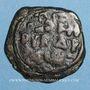 Monnaies Orient Latin. Comté d'Edesse. Richard de Salerne, régent (1104-1108). Follis