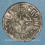 Monnaies Orient Latin. Comté de Tripoli. Raymond III (1152-1187). Denier