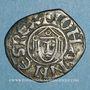 Monnaies Orient Latin. Damiette. Jean de Brienne (1219-1221). Denier