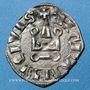 Monnaies Orient Latin. Despotes d'Epire. Philippe de Tarente (1294-1313). Denier tournois