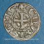 Monnaies Orient Latin. Duché d'Athènes. Guillaume I de la Roche (1280-87). Denier tournois