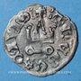 Monnaies Orient Latin Duché d'Athènes Guillaume I de la Roche (1280-87) ou Guy II de la Roche (1287-94)denier