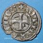 Monnaies Orient Latin. Duché d'Athènes. Guy II de la Roche (1287-1308). Denier tournois