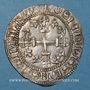 Monnaies Orient Latin. Ordre de Saint Jean à Rhodes. Antoine Fluvian (1421-1437). Gigliato