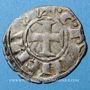 Monnaies Orient Latin. Princes d'Achaïe. Guillaume 1er de Villehardouin (1245-1278). Denier tournois