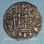 Monnaies Orient Latin. Princes d'Achaïe. Guillaume de Villehardouin (1245-1278). Denier