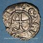 Monnaies Orient Latin. Principauté d'Achaïe. Charles II d'Anjou (1285-1289). Denier tournois
