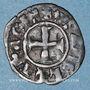 Monnaies Orient Latin. Principauté d'Achaïe. Isabelle de Villehardouin (1297-1301). Denier tournois