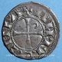 Monnaies Orient Latin. Principauté d'Antioche. Bohémond III, pendant sa majorité (1163-1201). Denier