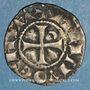 Monnaies Orient Latin. Principauté d'Antioche. Bohémond IV (1201-1233). Denier