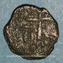 Monnaies Orient Latin. Principauté d'Antioche. Monnayage anonyme, 1120-140. Follis
