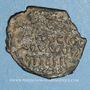 Monnaies Orient Latin. Principauté d'Antioche. Roger de Salerne, régent (1112-1119). Follis 2e type