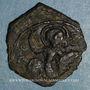 Monnaies Orient Latin. Principauté d'Antioche. Roger de Salerne, régent (1112-1119). Follis 3e type