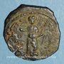 Monnaies Orient Latin. Principauté d'Antioche. Tancrède, régent (1104-1112). Follis type 3