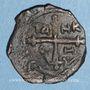 Monnaies Orient Latin. Principauté d'Antioche. Tancrède, régent (1104-1112). Follis type 4