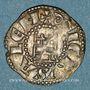 Monnaies Orient Latin. Royaume de Jérusalem. Baudouin III (1143-1163). Denier