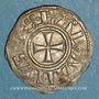Monnaies Orient Latin. Royaume de Jérusalem. Baudouin III (1143-1163). Obole