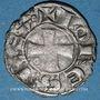 Monnaies Orient Latin. Royaume de Jérusalem. Jean de Brienne (1210-1225). Denier. Damiette 1219-1221