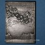 Monnaies Paris. Exposition Universelle Internationale. 1900. Plaquette bronze argenté. 36,16 x 51,03. O. Roty