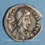 Monnaies Imitation pseudo-impériale au nom d'Honorius, attribuée aux Wisigoths. Silique Ravenne