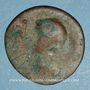 Monnaies Les Ostrogoths. Roi incertain. Bronze anonyme de 42 nummi. 6e siècle