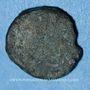 Monnaies Les Vandales. Attribution indéterminée au nom de Justinien I (527-565). Nummus bronze