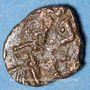 Monnaies Les Vandales. Emission Sardo-Vandale (Gaiseric  - début de Gunthamund). Nummus bronze