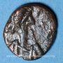 Monnaies Les Vandales. Gelimer (530-534). 2,5 nummi bronze