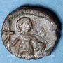 Monnaies Les Vandales. Imitation Sardo-Vandales (Gaiseric à Hilderic). Nummus bronze. Inédit !