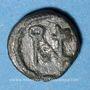 Monnaies Les Vandales. Monnayage indéterminé au monogramme d'Anastase (491-518). Nummus bronze