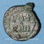 Monnaies Les Vandales. Monnayage indéterminé au nom de Justinien I (527-565). Nummus bronze