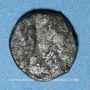 Monnaies Les Vandales. Monnayage indéterminé au nom de Théodose II (408-450). Bronze