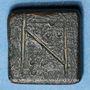Monnaies Byzance. Poids monétaire du nomisma