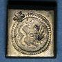 Monnaies Espagne. Poids monétaire de 4 réaux de Ferdinand et Isabelle (1474-1504)