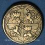 Monnaies Espagne. Poids monétaire de 4 réaux de Philippe II à Philippe V