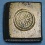 Monnaies Espagne. Poids monétaire de 8 réaux de Ferdinand et Isabelle (1474-1504)