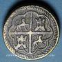 Monnaies Espagne. Poids monétaire de 8 réaux de Philippe II à Philippe IV