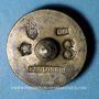 Monnaies Espagne. Poids monétaire de 8 réaux émis après Philippe IV (1621-1665) et daté 1846