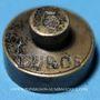 Monnaies Espagne. Poids monétaire de l'écu d'or (5 duros) d'Isabelle II (1833-1868)