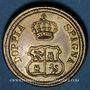 Monnaies Espagne. Poids monétaire du 8 escudos. Fabrication italienne