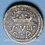Monnaies Espagne. Poids monétaire du double réal de Ferdinand et Isabelle (1474-1504)