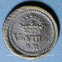 Monnaies Espagne. Poids monétaire du double réal de Philippe IV (1621-1665)