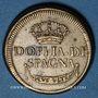 Monnaies Espagne. Poids monétaire du doublon d'Espagne de 1537 à 1821. Fabrication italienne