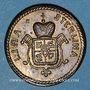 Monnaies Grande Bretagne. Poids monétaire du 1/2 souverain. Fabrication italienne