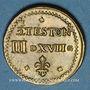 Monnaies Henri III (1574-1589). Poids monétaire du demi-teston