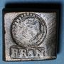 Monnaies Henri III (1574-1589). Poids monétaire du franc