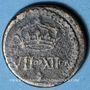 Monnaies Henri III (1574-1589). Poids monétaire du quart d'écu