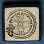 Monnaies Henri IV (1589-1610). Poids monétaire du quart d'écu, 5e type