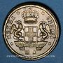 Monnaies Italie. Gênes. Poids monétaire de la pièce de 48 lires (1792-1793)